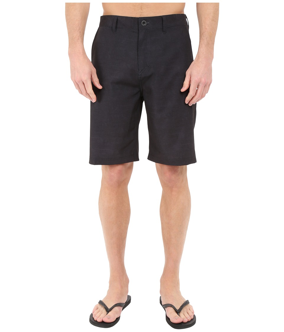 Quiksilver - Platypus Hybrid Shorts (Black) Men's Shorts