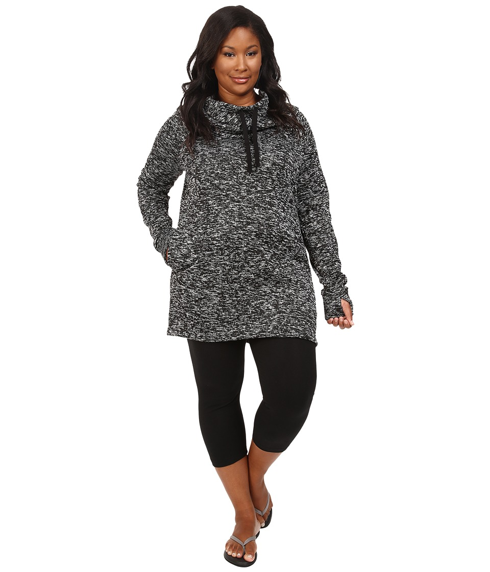 Soybu - Plus Size Simone Hoodie (Black) Women's Sweatshirt