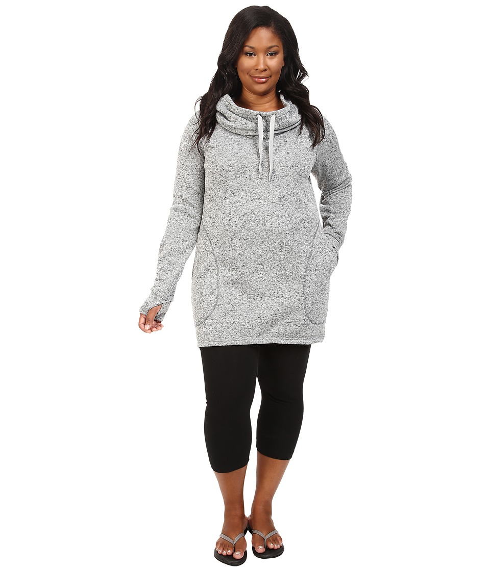 Soybu - Plus Size Simone Hoodie (Grey Heather) Women's Sweatshirt