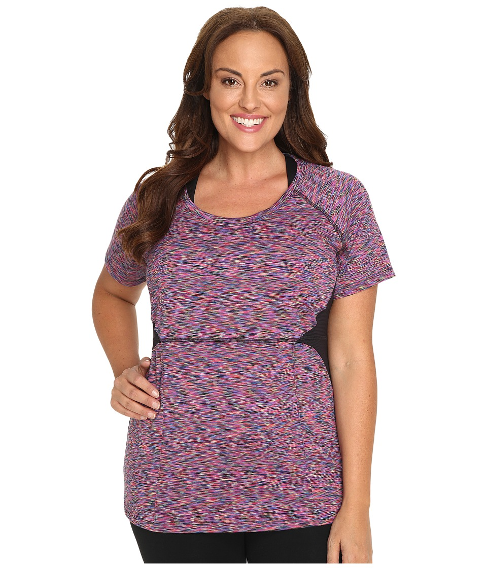 Soybu - Plus Size Evelyn Tee (Spectrum) Women's Short Sleeve Pullover