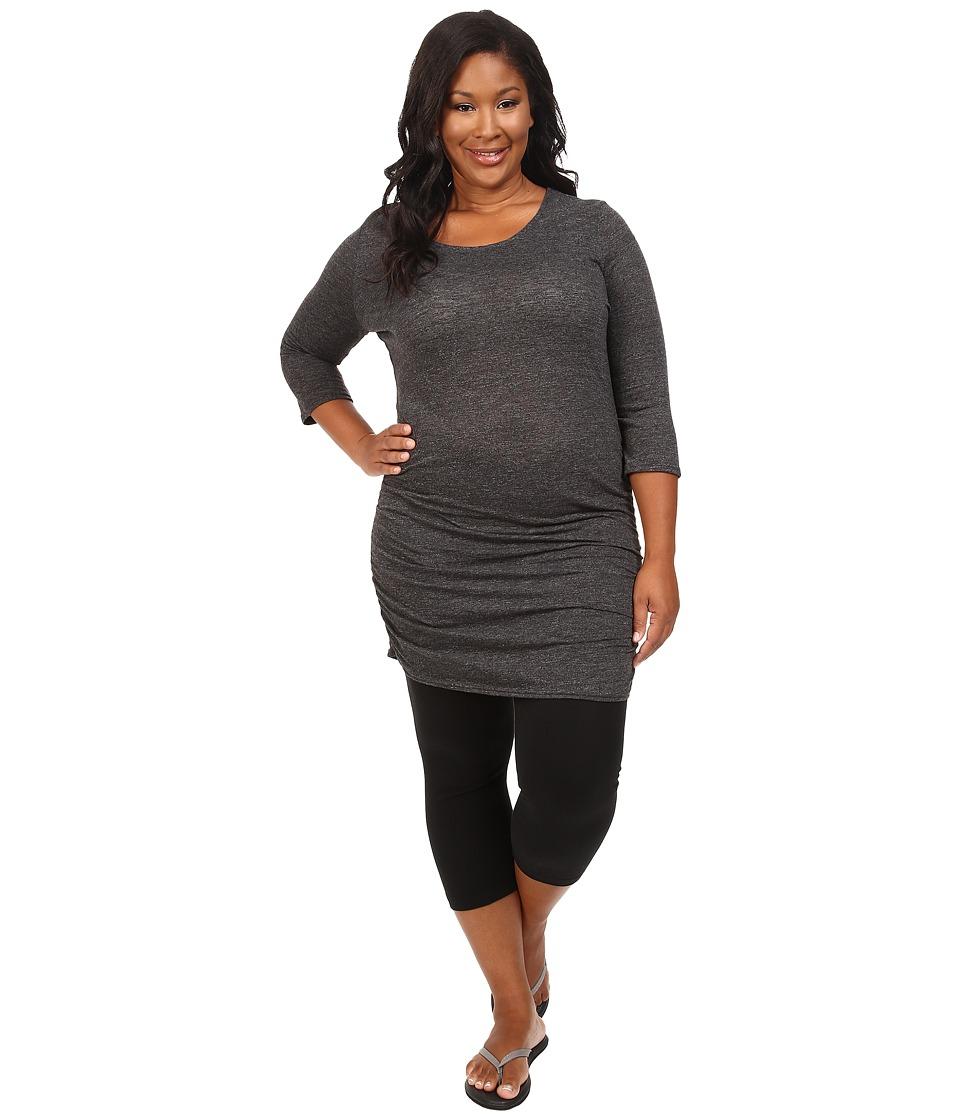 Soybu - Plus Size Lynn Tunic (Black) Women's Blouse