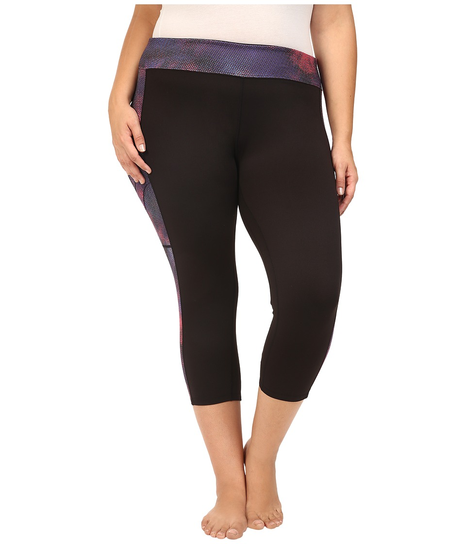 Soybu - Plus Size Toni Capris (Galaxy) Women's Capri