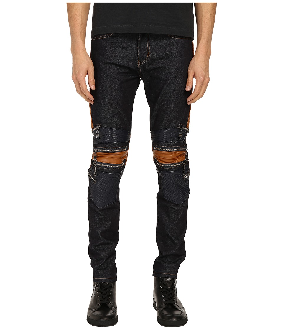 God's Masterful Children - Legna Biker Jeans (Raw Indigo) Men's Jeans
