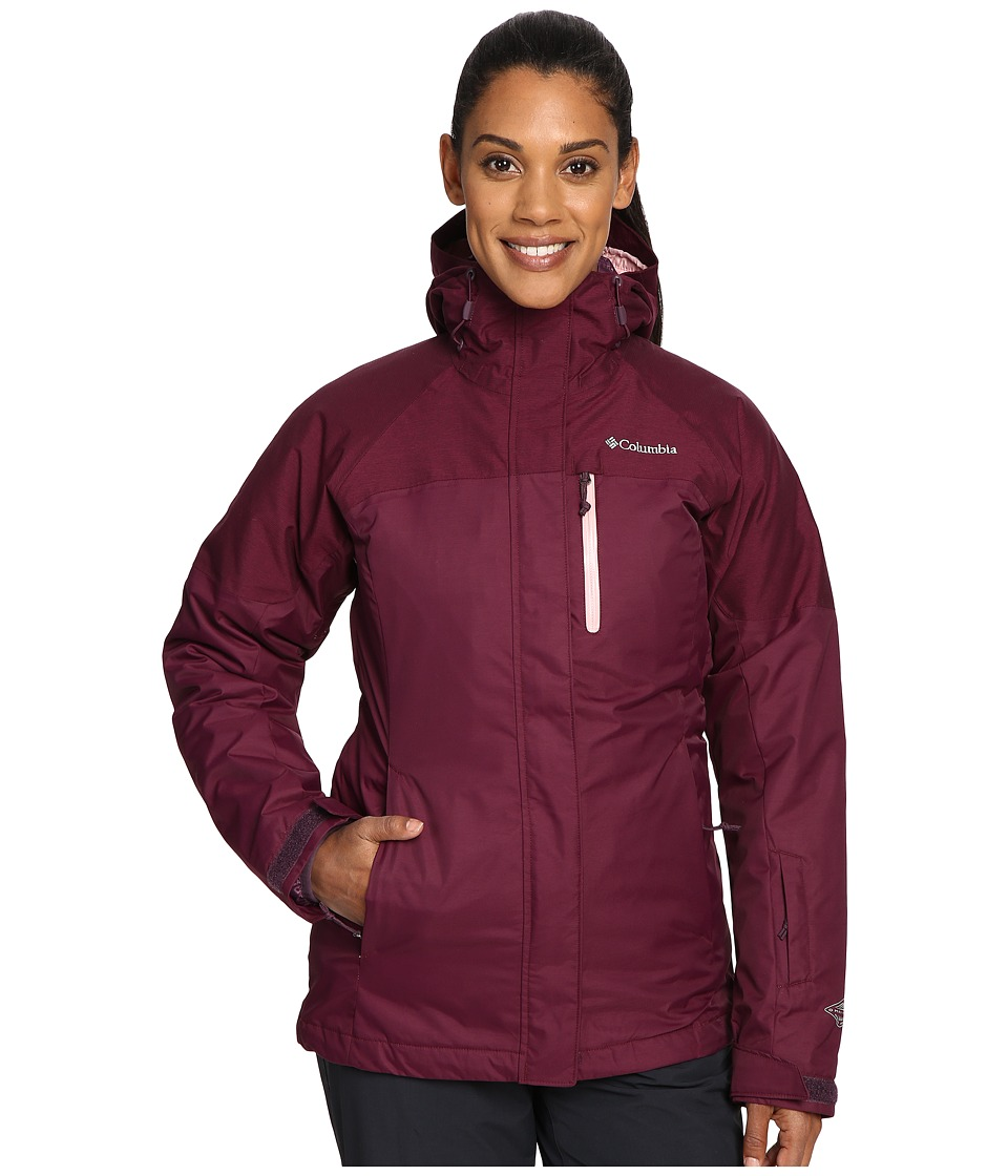 Columbia - In Bounds 650 TurboDown Interchange Jacket (Purple Dahlia) Women's Coat