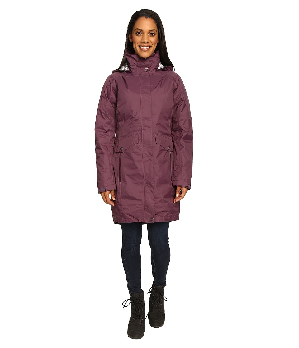 Columbia Evapouration Trench Interchange Jacket (Dusty Purple) Women