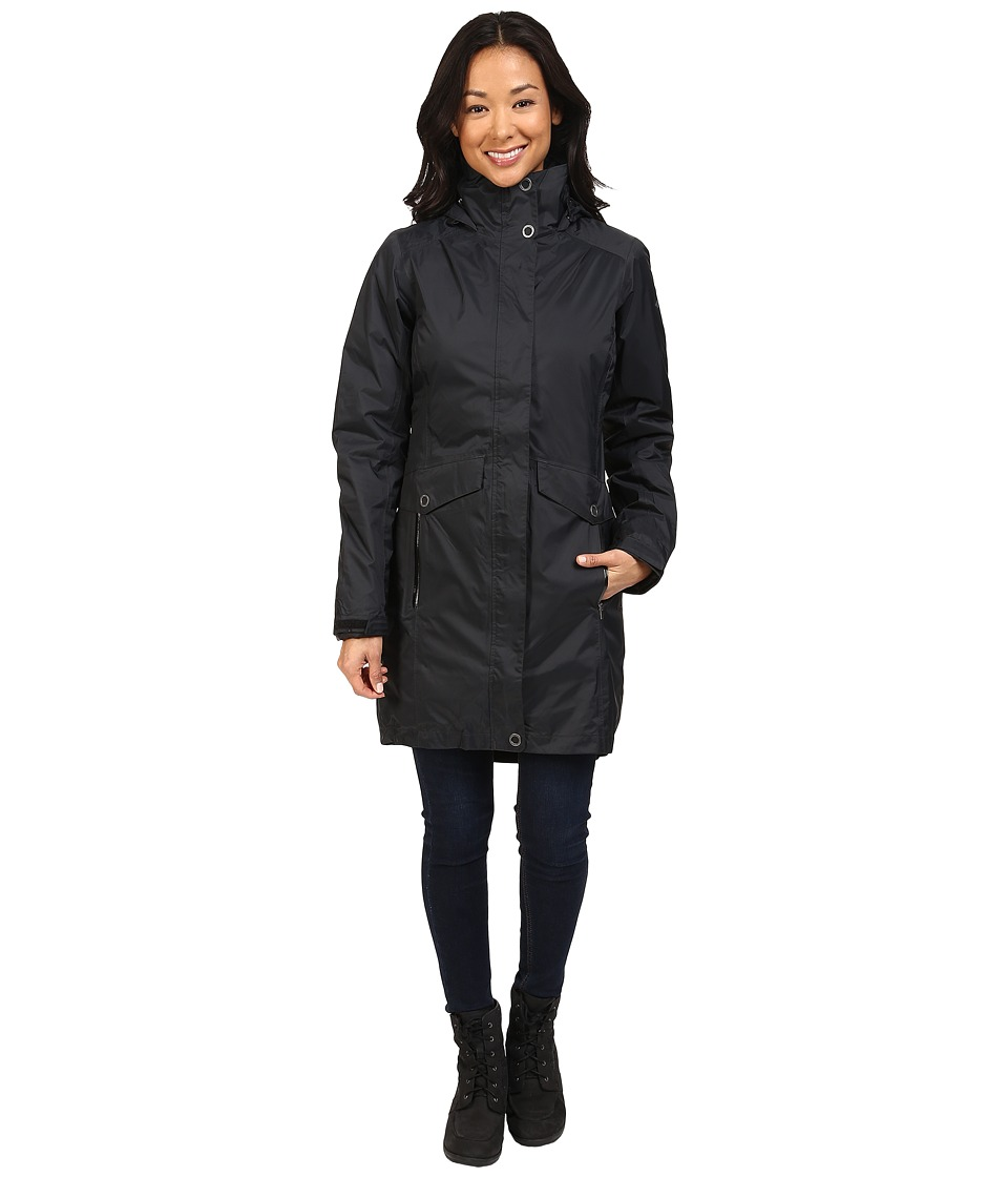 Columbia Evapouration Trench Interchange Jacket (Black) Women