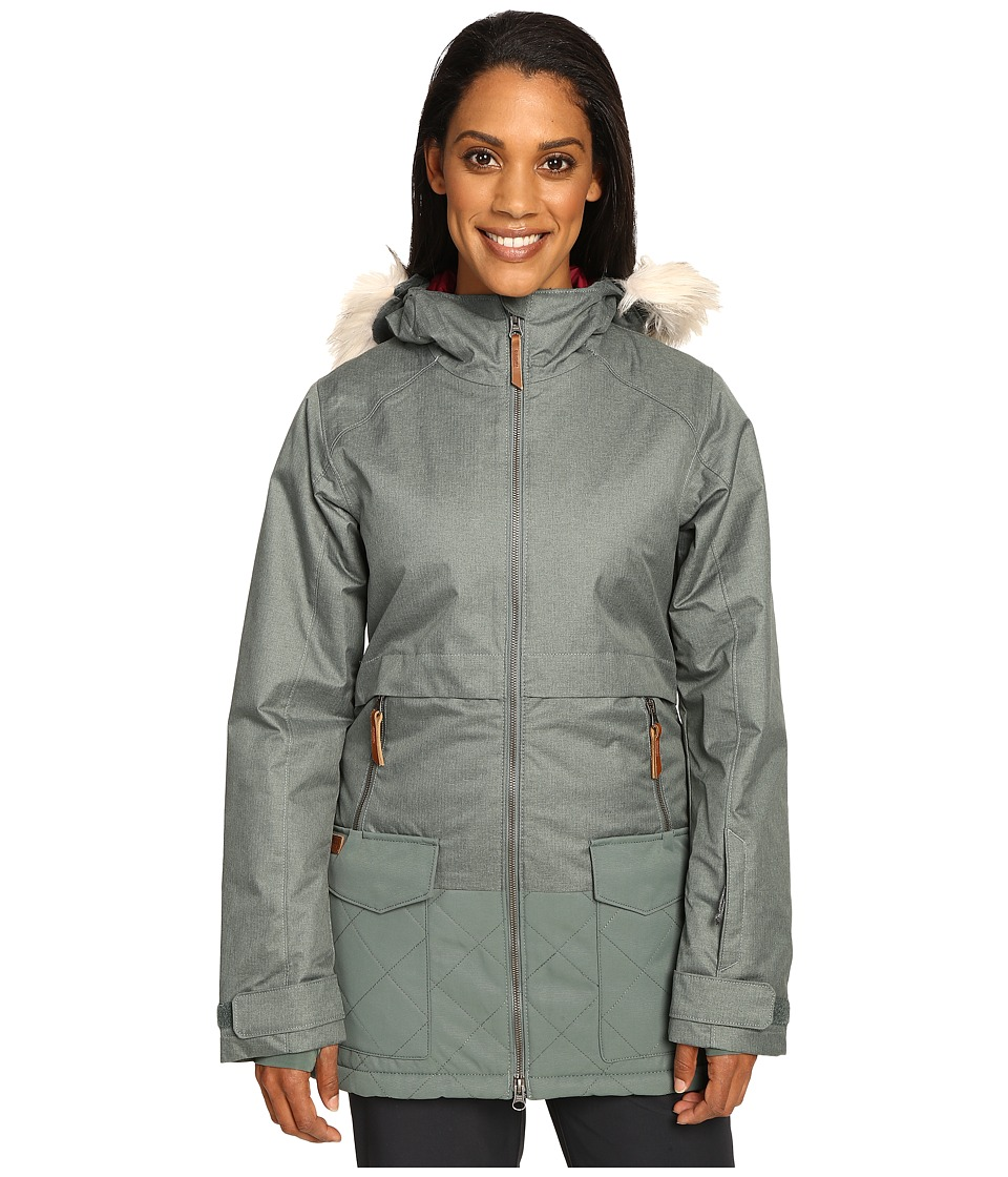 Columbia Catacomb Crest Parka (Pond) Women