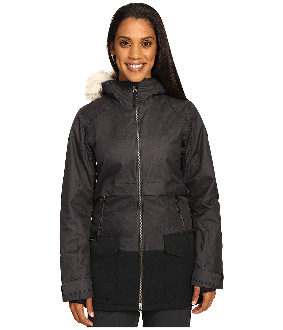 Columbia - Catacomb Crest Parka (Black) Women's Coat