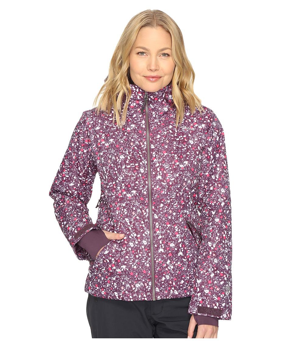 Columbia Unparalleled Jacket (Purple Dahlia Neps Print) Women