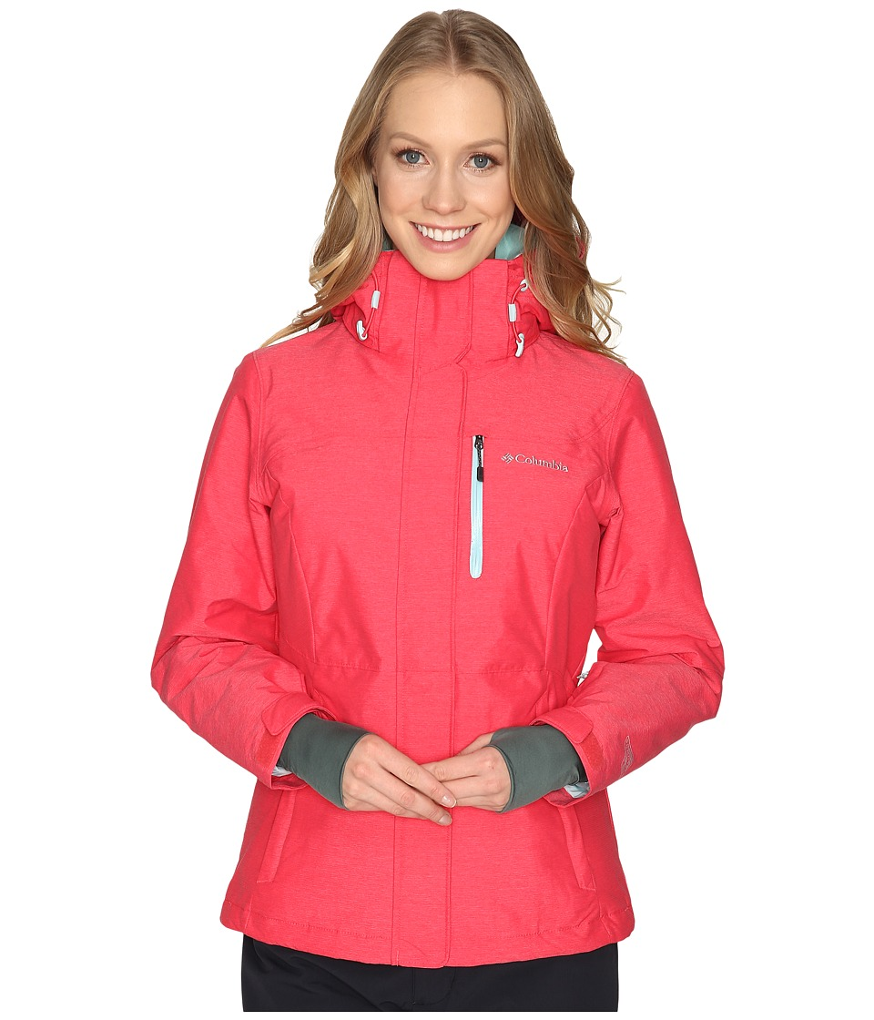 Columbia - Alpine Action Omni-Heat Jacket (Red Camellia/Spray) Women's Coat