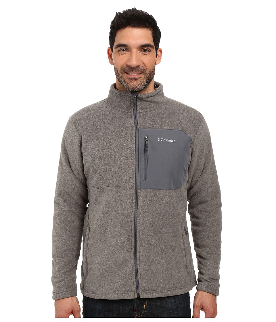 Columbia - Teton Peak Jacket (Charcoal Heather) Men's Coat