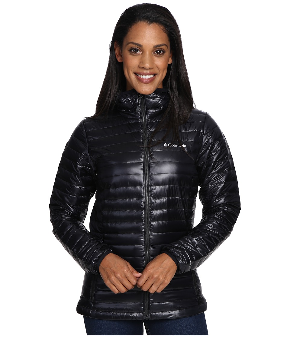 Columbia Platinum Plus 740 TurboDown Hooded Jacket (Black) Women
