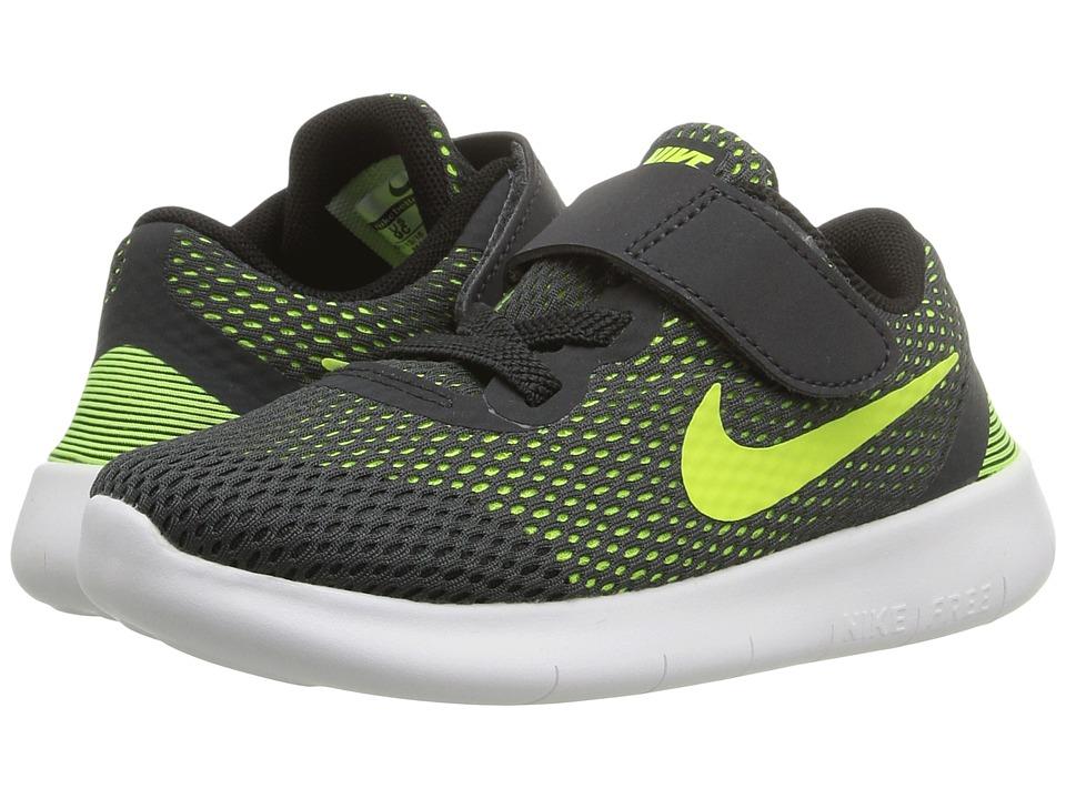 Nike Kids - Free RN (Infant/Toddler) (Game Royal/White/Black) Boys Shoes