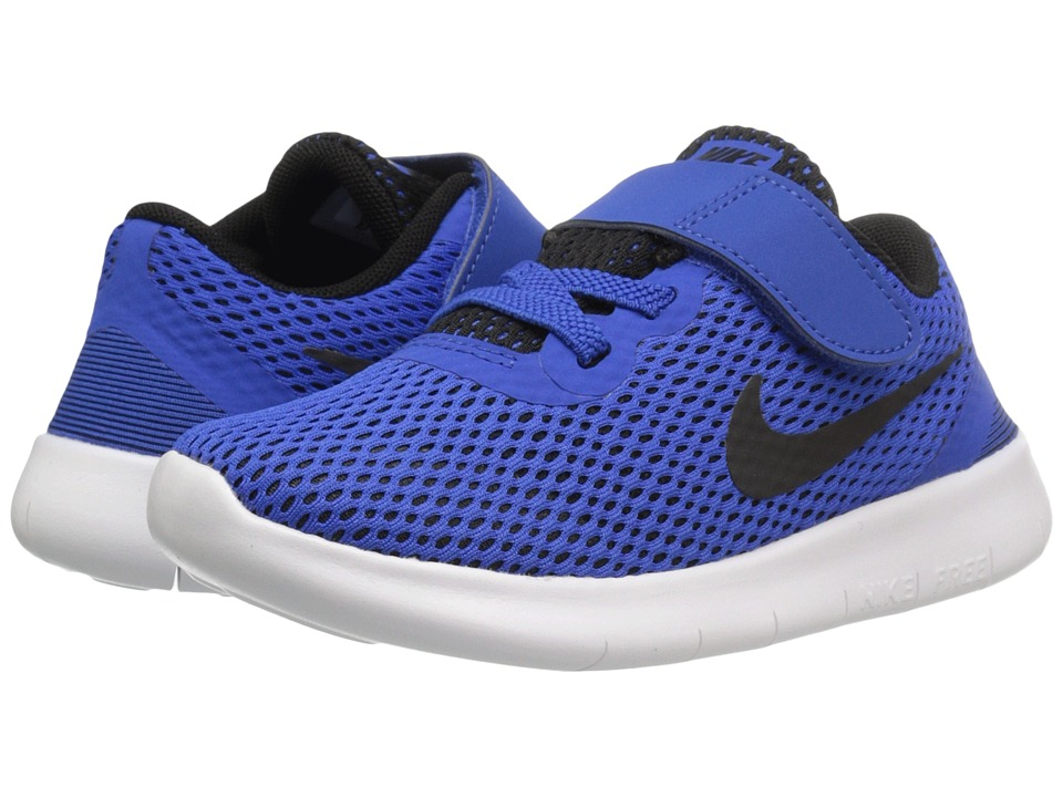 Nike Kids - Free RN (Infant/Toddler) (Game Royal/White/Black) Boys Shoes