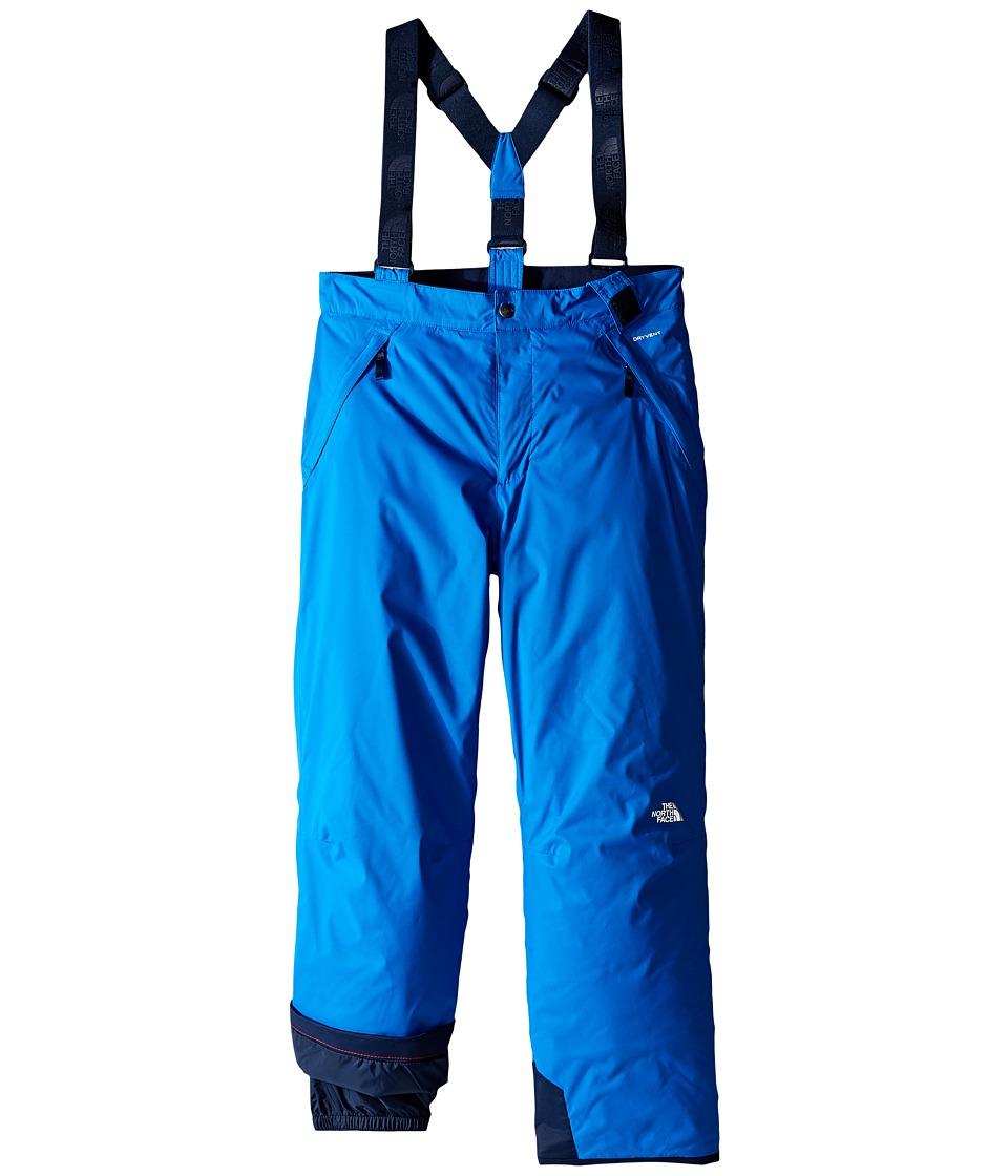 The North Face Kids - Snowquest Suspender Pants (Little Kids/Big Kids) (Jake Blue (Prior Season)) Boy's Outerwear