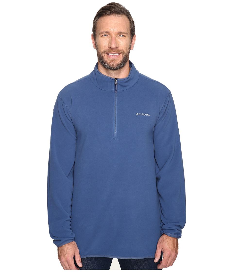 Columbia - Big Tall Ridge Repeat Half Zip Fleece (Night Tide) Men's Sweatshirt