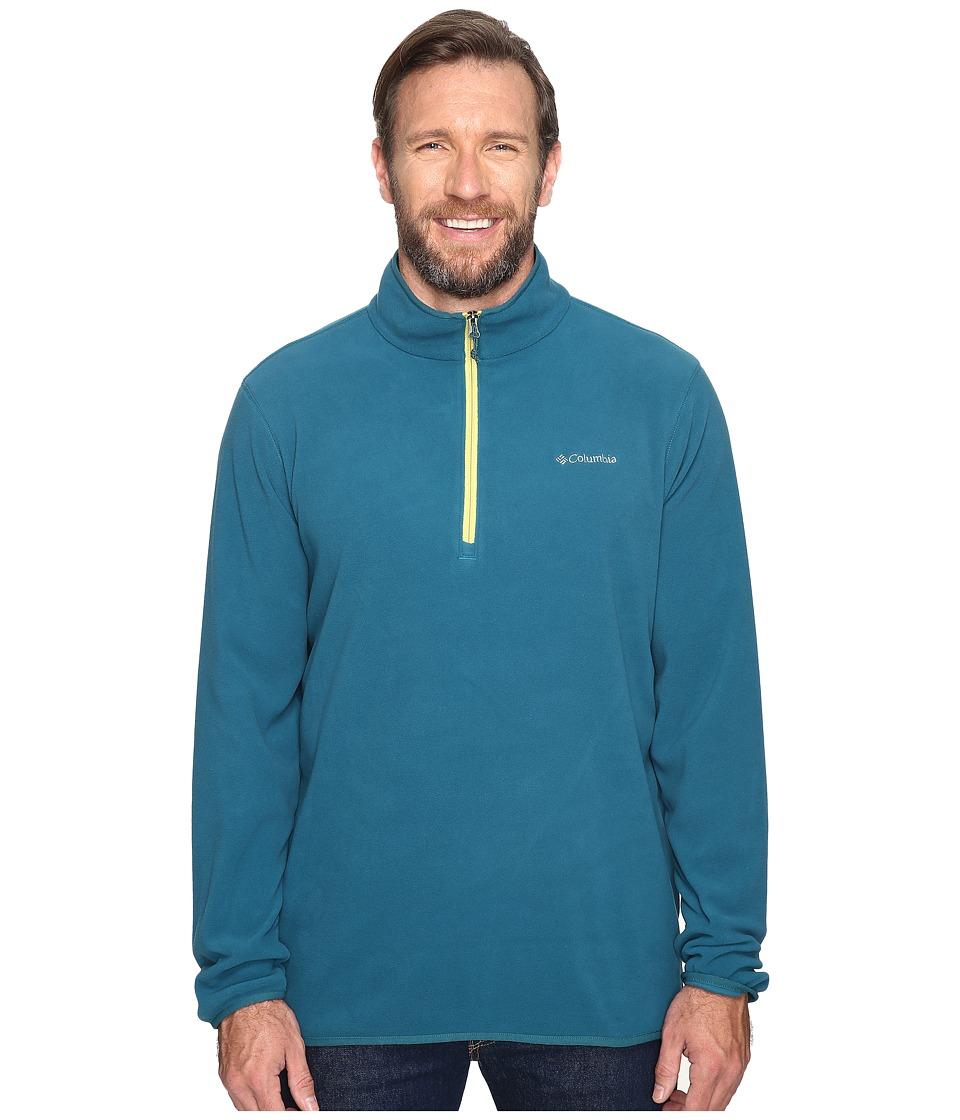 Columbia - Big Tall Ridge Repeat Half Zip Fleece (Deep Water) Men's Sweatshirt