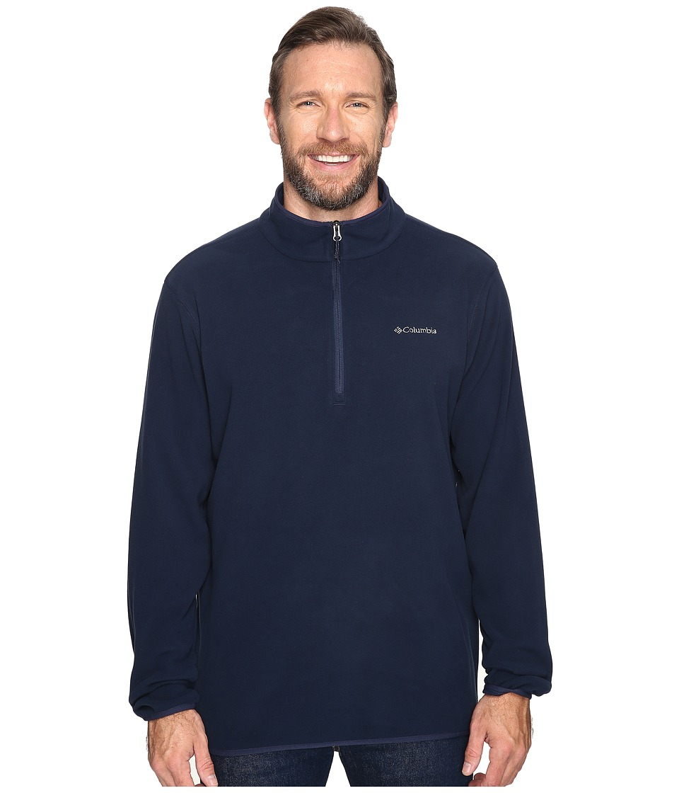 Columbia - Big Tall Ridge Repeat Half Zip Fleece (Collegiate Navy) Men's Sweatshirt