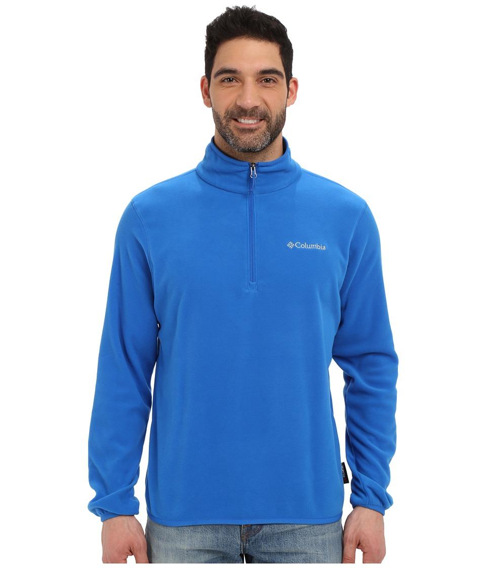 Columbia - Ridge Repeattm Half Zip Fleece (Super Blue) Men's Sweatshirt
