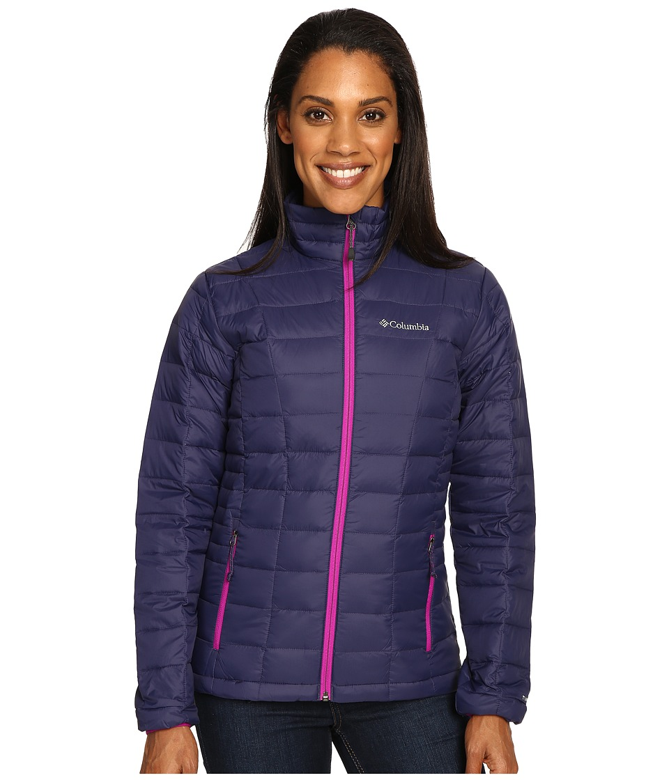 Columbia - Voodoo Falls 590 TurboDown Jacket (Nightshade/Bright Plum) Women's Coat