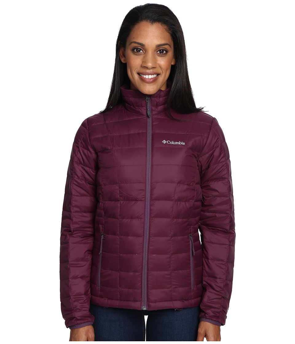 Columbia - Voodoo Falls 590 TurboDown Jacket (Purple Dahlia/Dusty Purple) Women's Coat