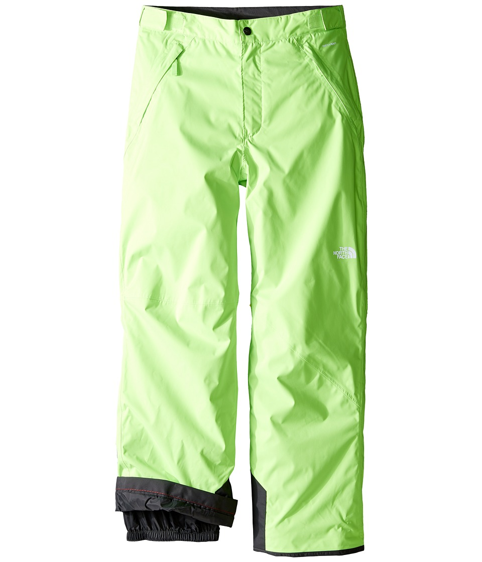 The North Face Kids - Freedom Insulated Pants (Little Kids/Big Kids) (Safety Green) Boy's Casual Pants