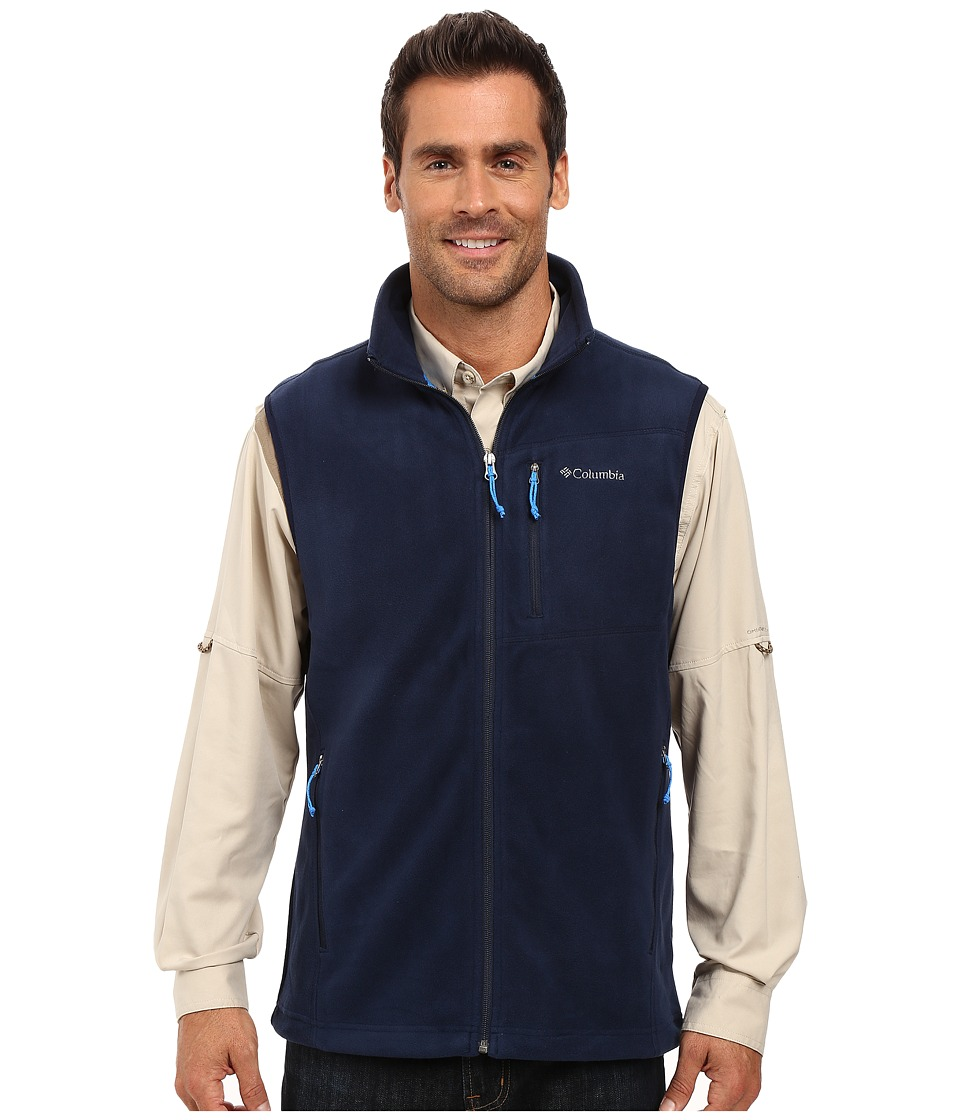 Columbia - Cascades Explorer Fleece Vest (Collegiate Navy) Men's Vest