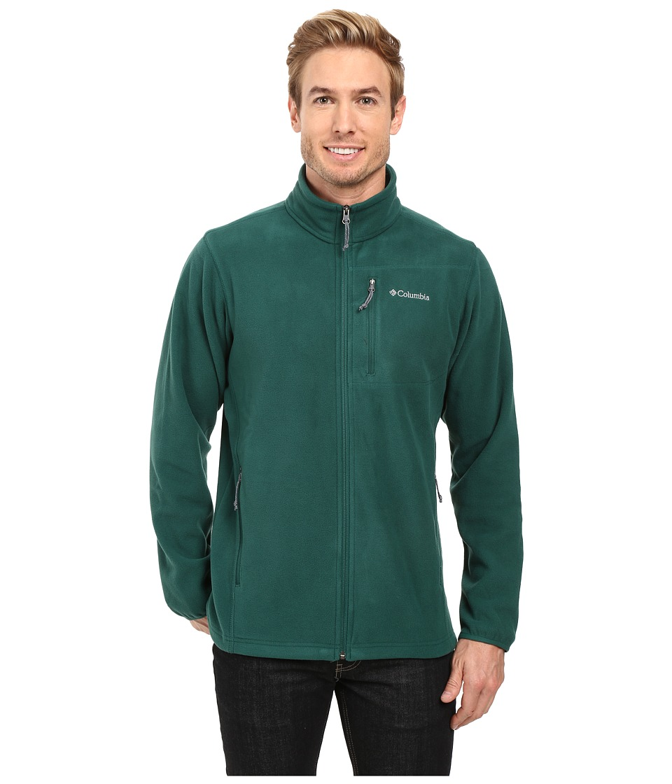 Columbia - Cascades Explorer Full Zip Fleece (Wildwood Green) Men's Coat