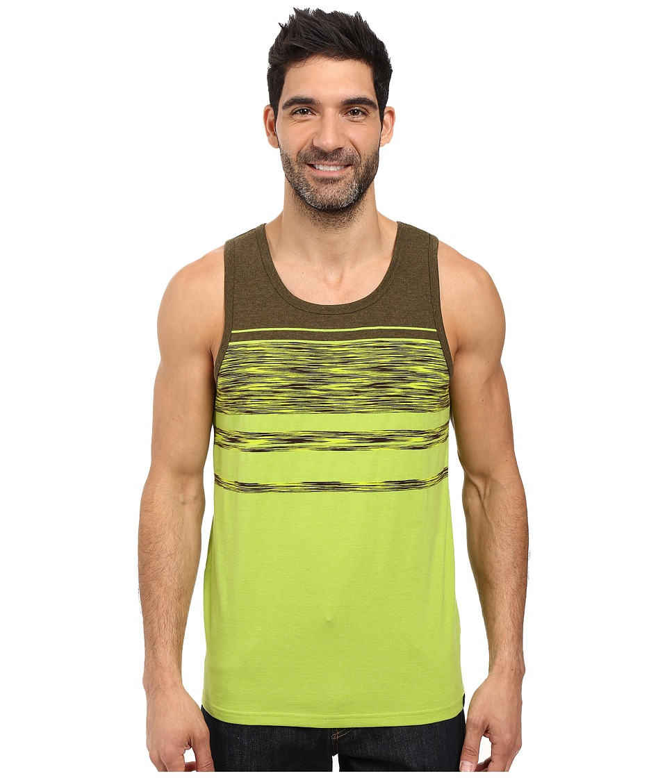 Prana - Throttle Tank Top (Macaw Stripe) Men's Sleeveless