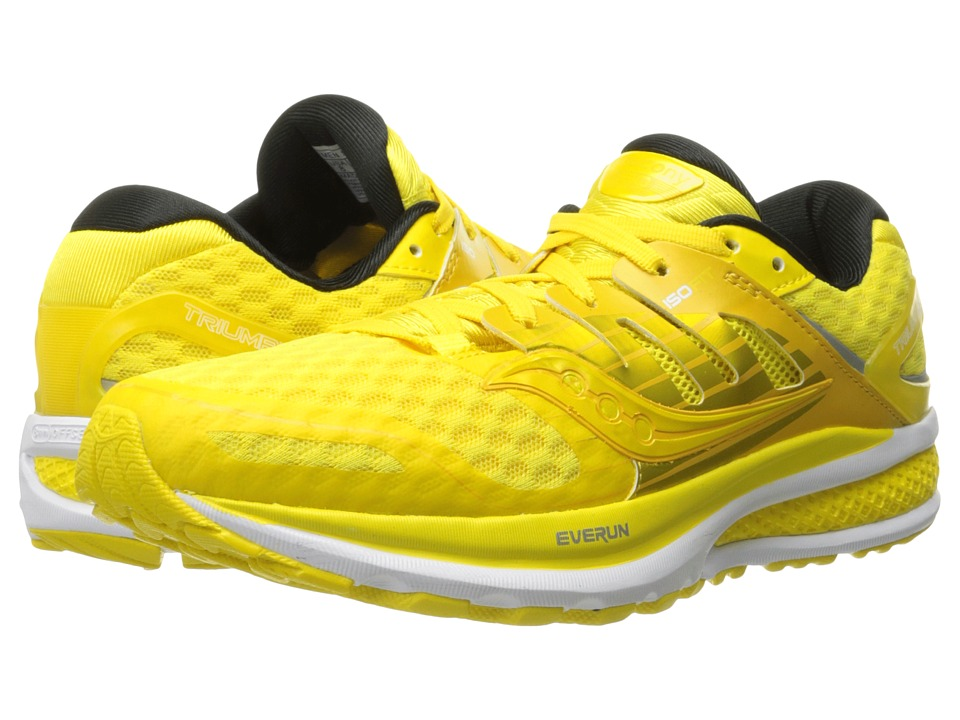 Saucony - Triumph ISO 2 (Long Run Lemon) Men's Shoes