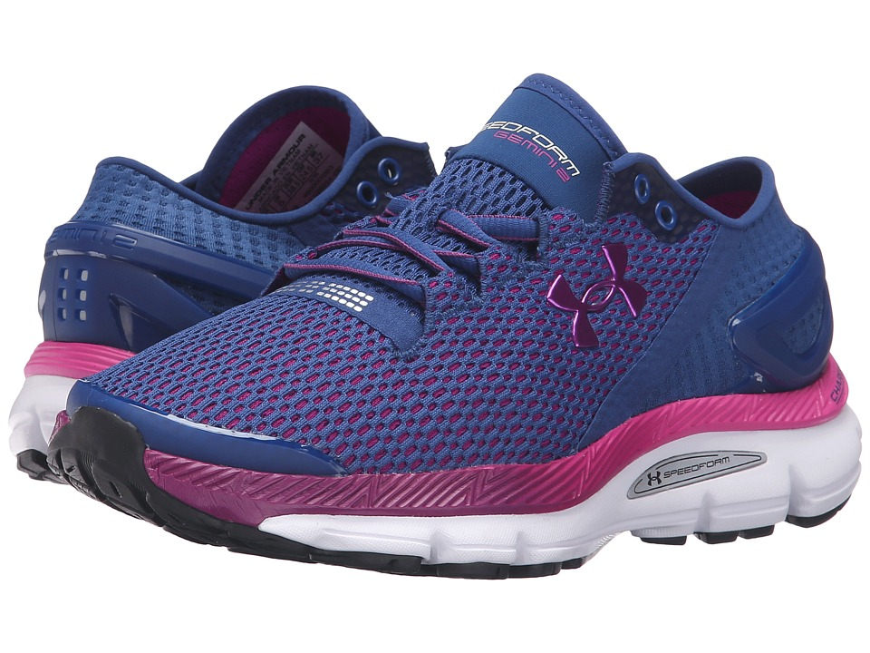 Under Armour - UA Speedform Gemini 2.1 (Heron/White/Purple Lights) Women's Running Shoes