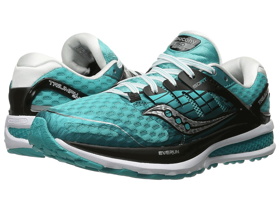 Saucony - Triumph ISO 2 (Teal/Black/White) Women's Shoes
