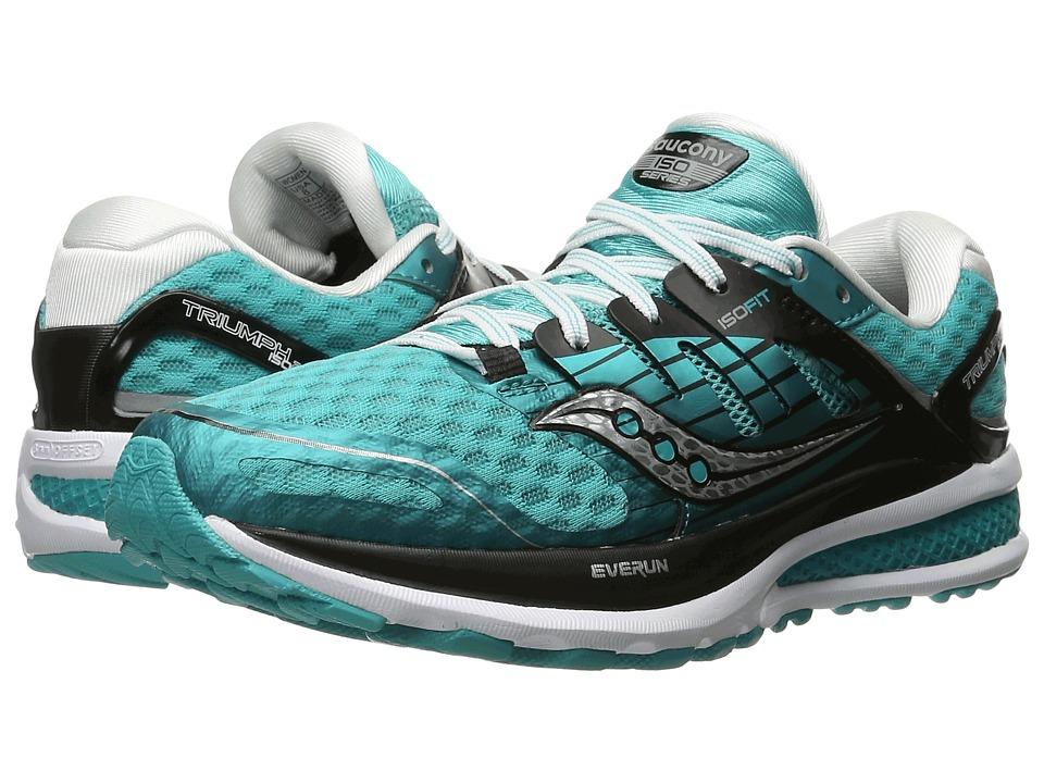 Saucony - Triumph ISO 2 (Teal/Black/White) Women's Shoes