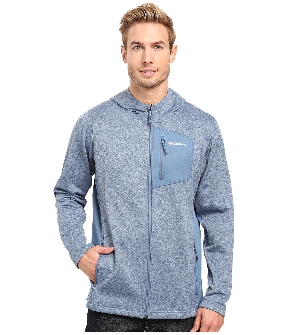 Columbia - Jackson Creek Hoodie (Steel Heather) Men's Sweatshirt