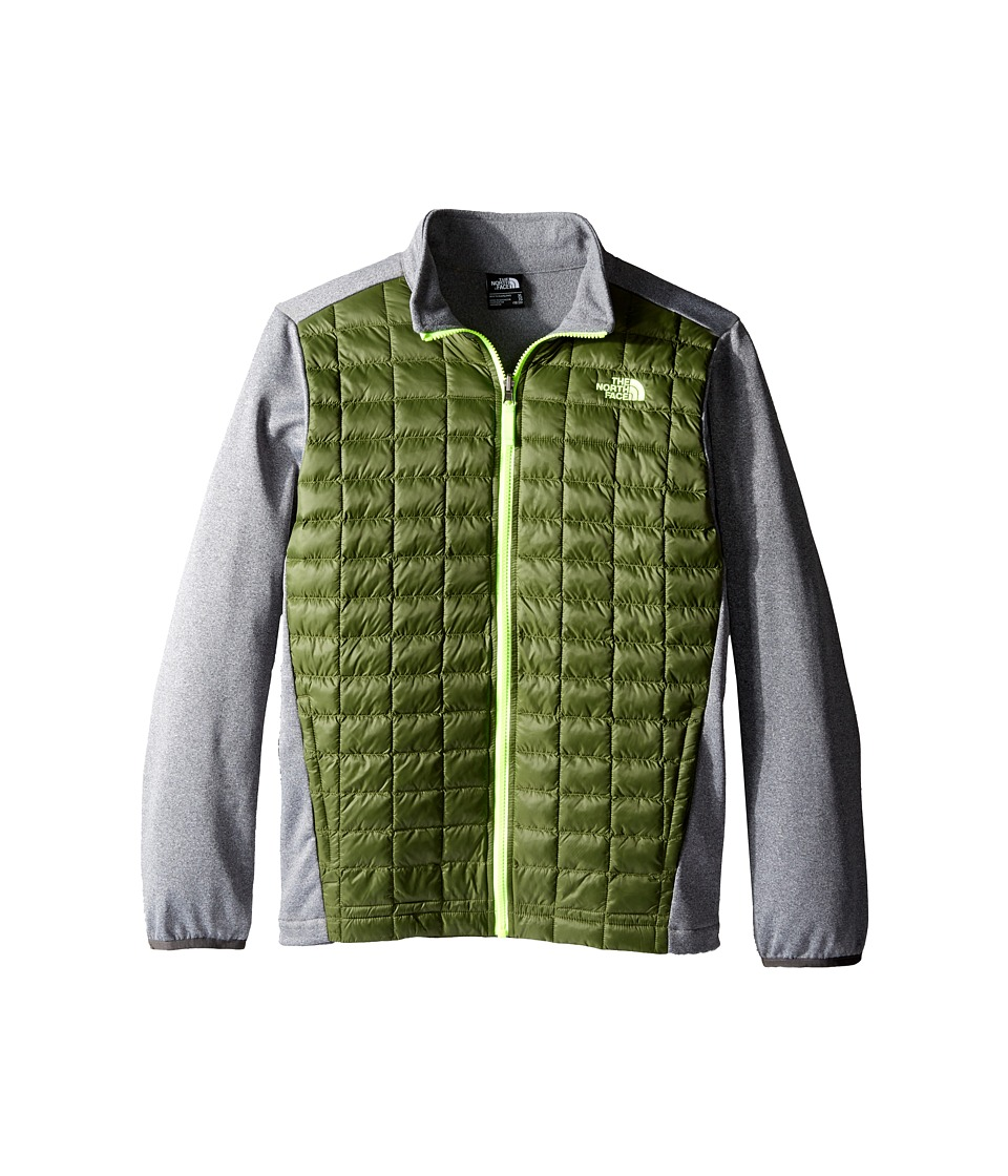 The North Face Kids - ThermoBall Triclimate Jacket (Little Kids/Big Kids) (Terrarium Green) Boy's Coat