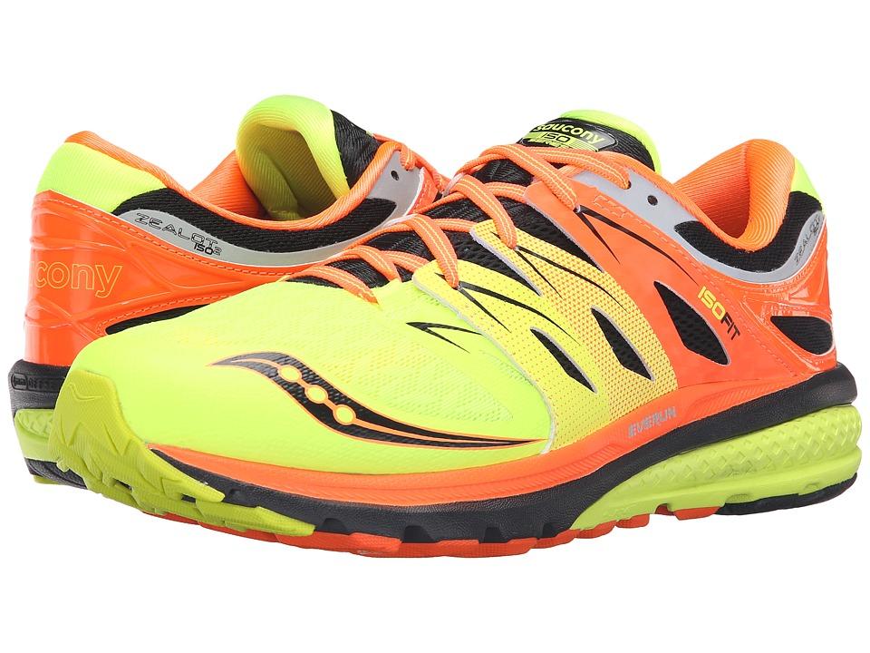 Saucony - Zealot ISO 2 (Viziorange/Citron/Black) Men's Running Shoes