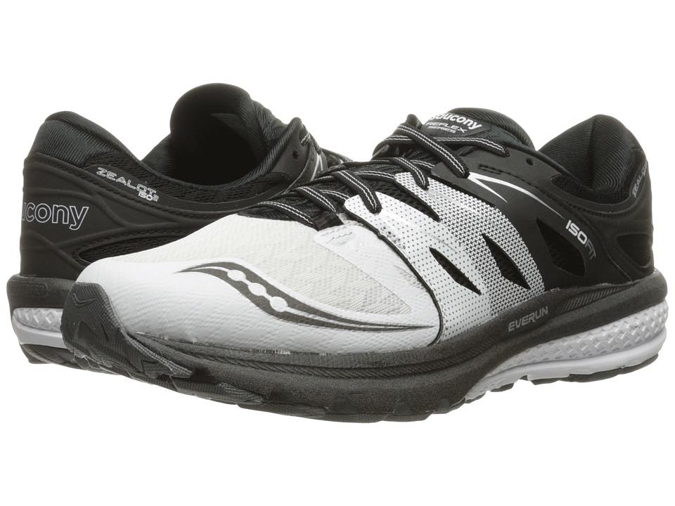 Saucony Zealot ISO 2 (White/Black/Silver) Men