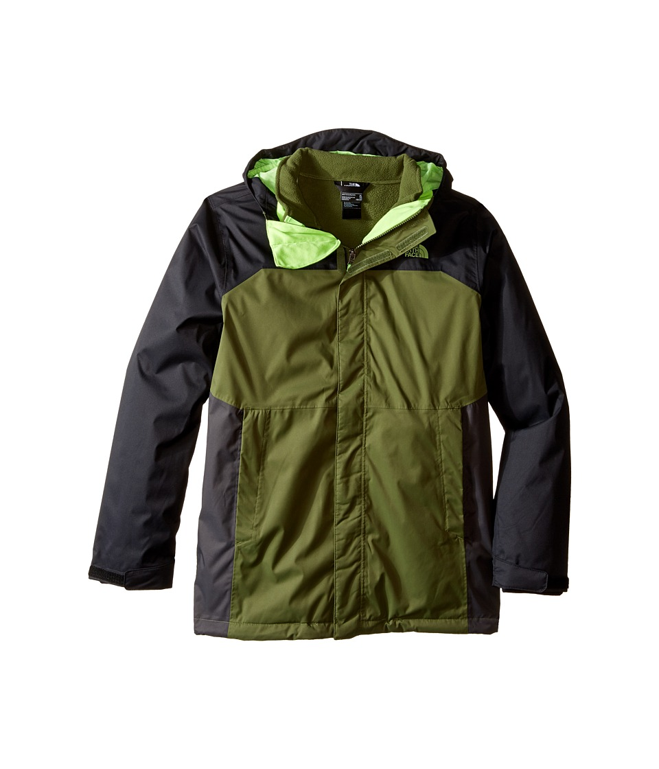 The North Face Kids - Vortex Triclimate Jacket (Little Kids/Big Kids) (Terrarium Green) Boy's Coat
