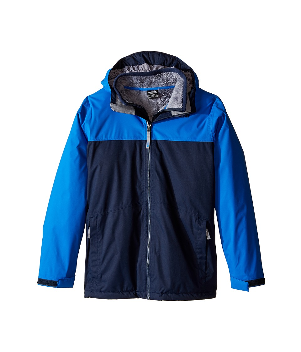 The North Face Kids - Chimborazo Triclimate Jacket (Little Kids/Big Kids) (Cosmic Blue) Boy's Coat