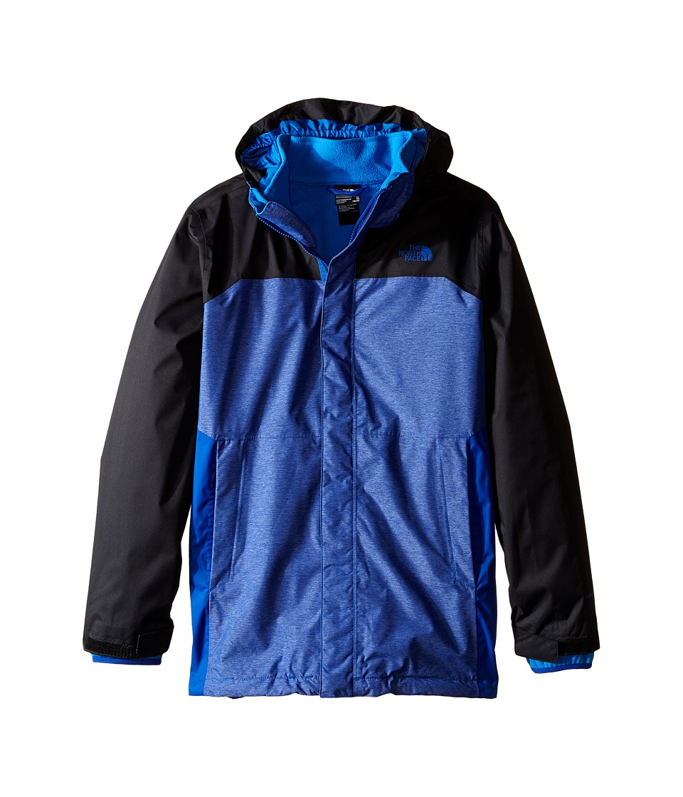 The North Face Kids - Vortex Triclimate Jacket (Little Kids/Big Kids) (Honor Blue Heather) Boy's Coat