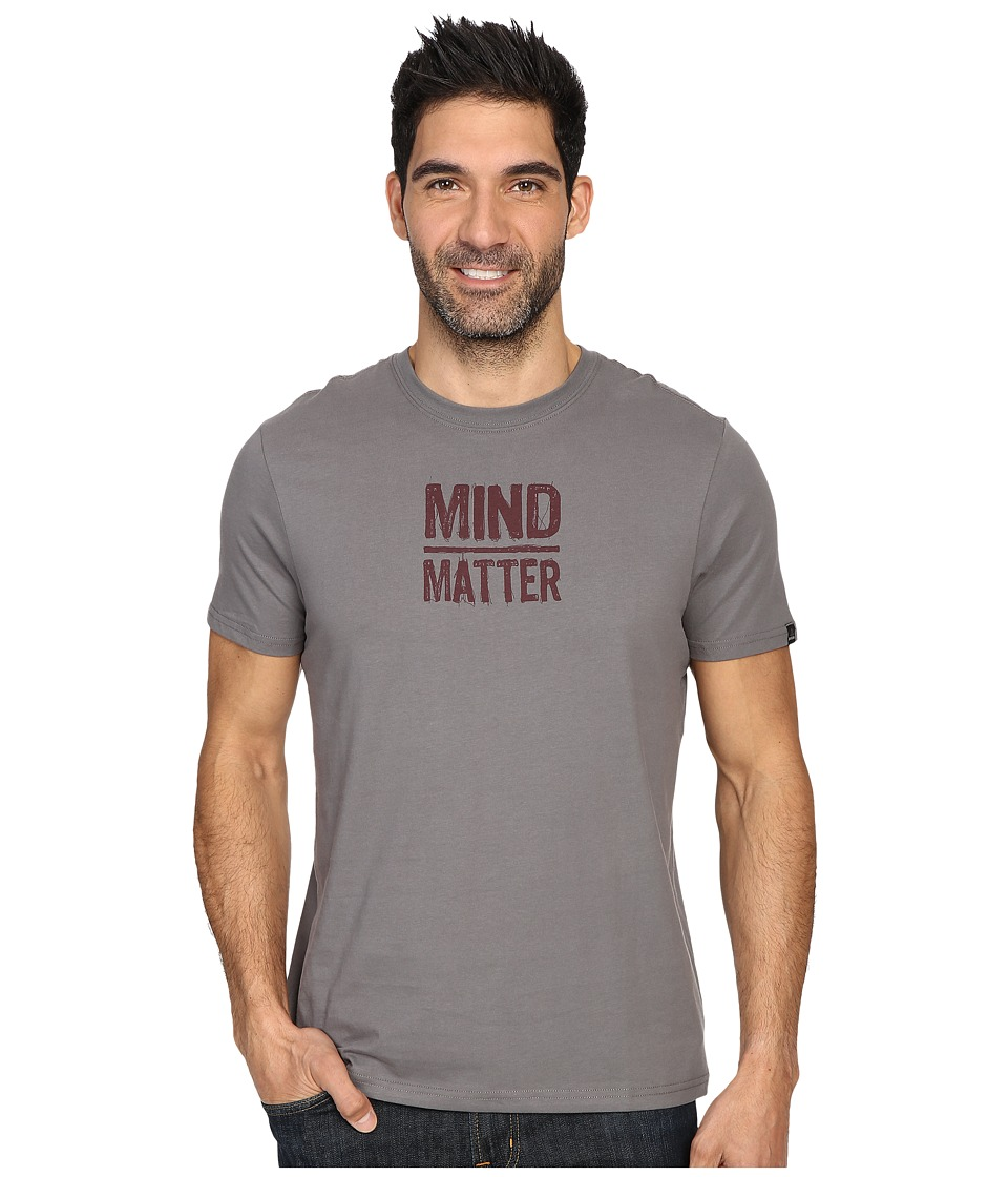 Prana - Mind/Matter T-Shirt (Gravel) Men's Short Sleeve Pullover