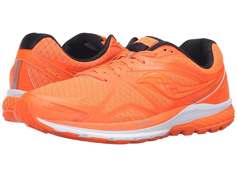 Saucony - Ride 9 (Outkick Orange) Men's Running Shoes