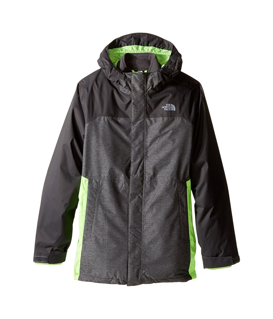 The North Face Kids - Vortex Triclimate Jacket (Little Kids/Big Kids) (Graphite Grey Heather) Boy's Coat
