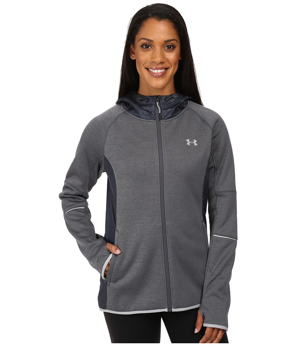 Under Armour - UA Storm Swacket Full Zip (Stealth Gray/Steel/Metallic Silver) Women's Coat