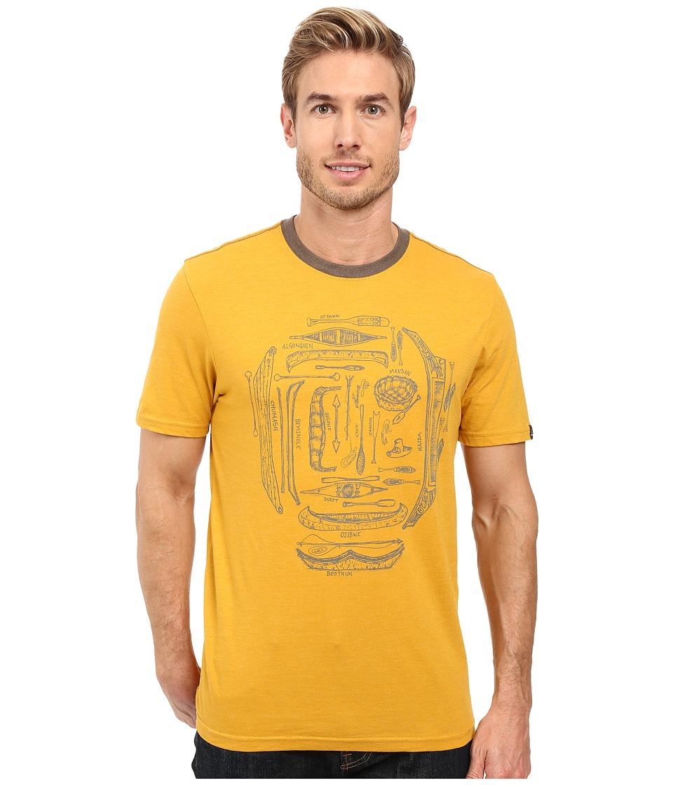 Prana - Canoe'N Ringer (Marigold) Men's Clothing