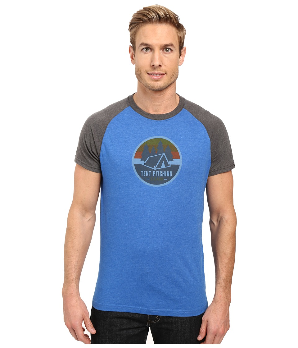 Prana - Tent Pitch Club T-Shirt (Classic Blue) Men's T Shirt