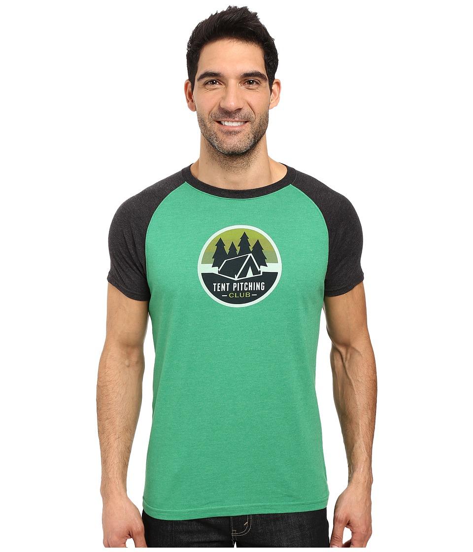 Prana - Tent Pitch Club T-Shirt (Peacock Eye) Men's T Shirt
