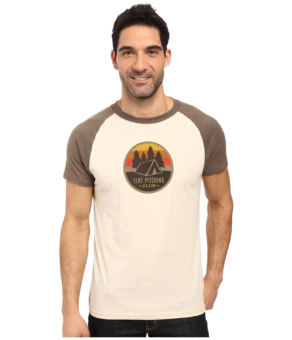 Prana - Tent Pitch Club T-Shirt (Stone) Men's T Shirt