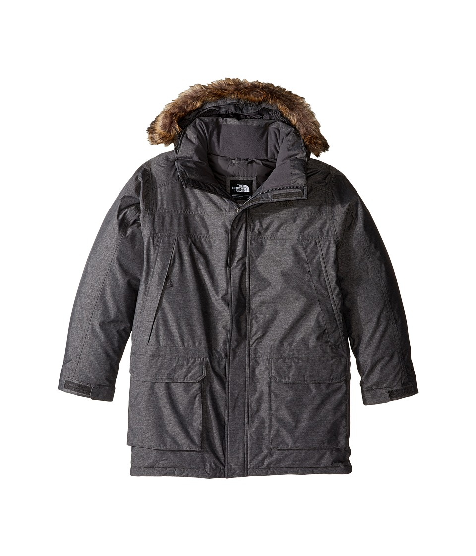 The North Face Kids McMurdo Down Parka (Little Kids/Big Kids) (TNF Medium Grey Heather) Boy