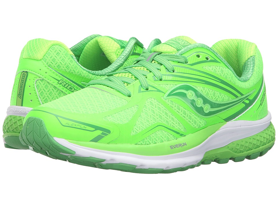 Saucony - Ride 9 (Toe the Lime) Women's Running Shoes